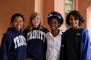 Get involved in Trinity's Community Service